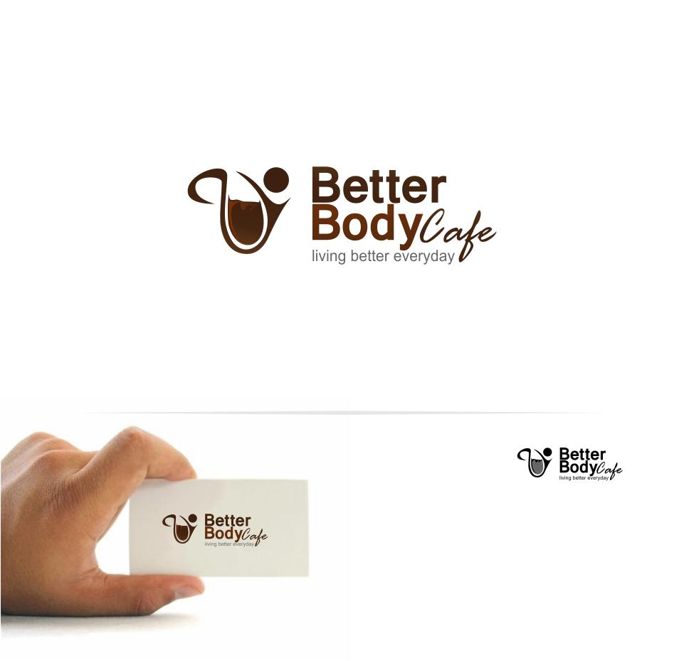 Logo Design by Mitchnick Sunardi - Entry No. 37 in the Logo Design Contest New Logo Design for Better Body Cafe.