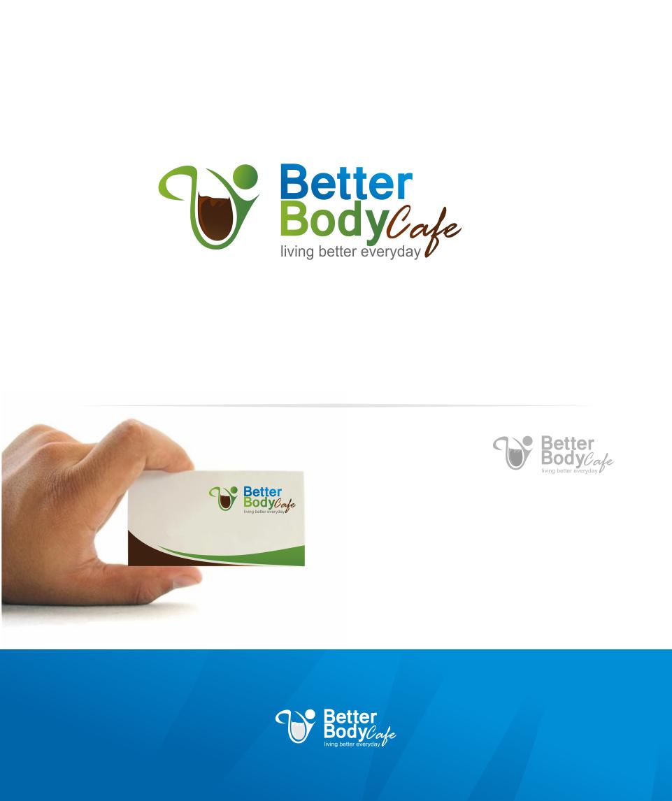 Logo Design by Mitchnick Sunardi - Entry No. 40 in the Logo Design Contest New Logo Design for Better Body Cafe.