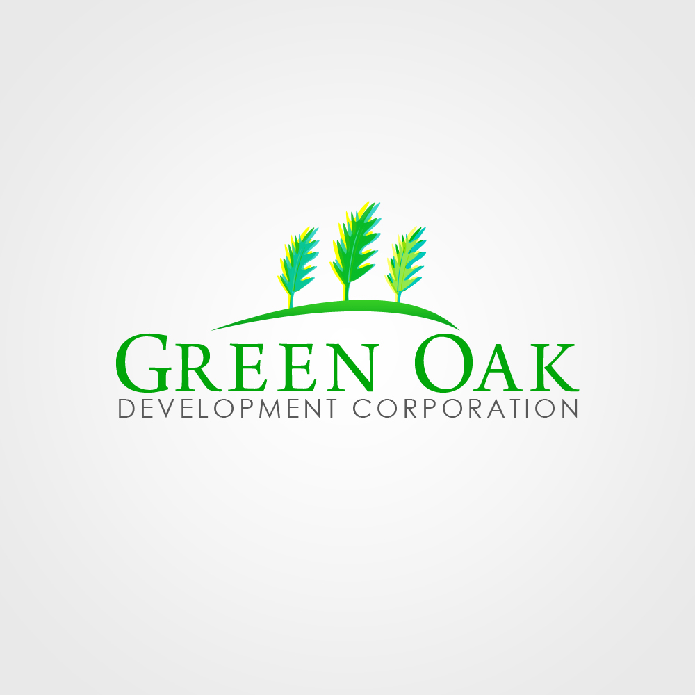 Logo Design by omARTist - Entry No. 135 in the Logo Design Contest Unique Logo Design Wanted for Green Oak Development Corp..