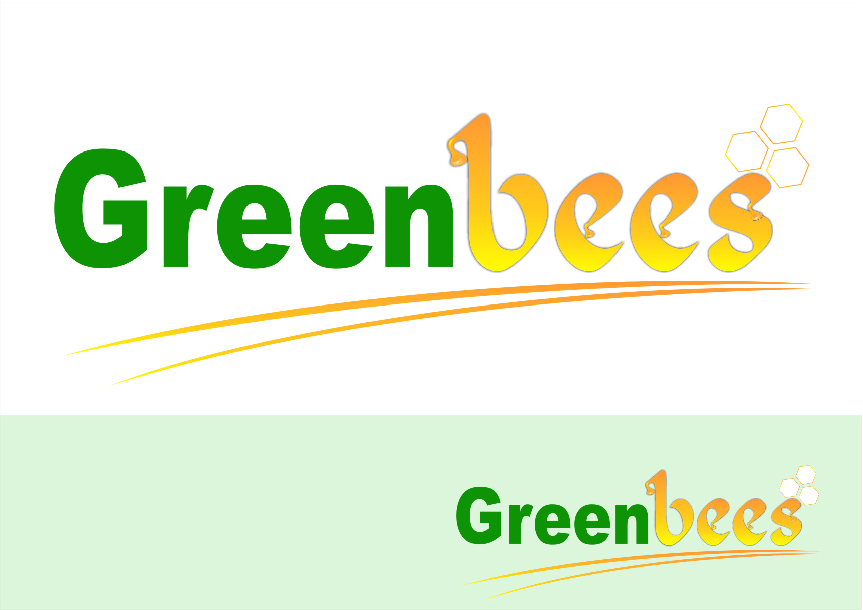 Logo Design by Ngepet_art - Entry No. 61 in the Logo Design Contest Greenbees Logo Design.