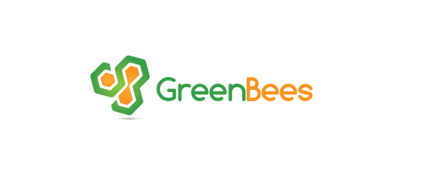 Logo Design by Andrey Pismenny - Entry No. 63 in the Logo Design Contest Greenbees Logo Design.