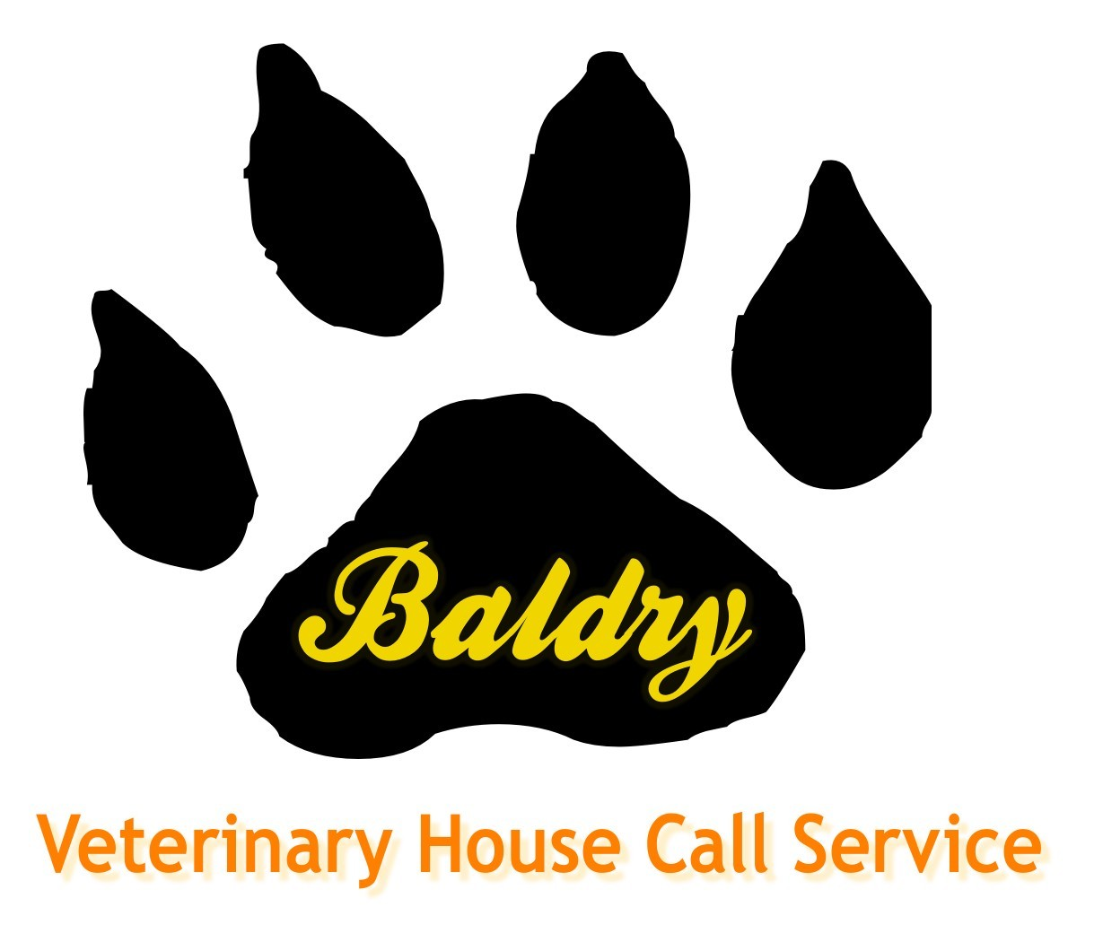 Logo Design by Private User - Entry No. 37 in the Logo Design Contest Captivating Logo Design for Baldry Veterinary House Call Service.