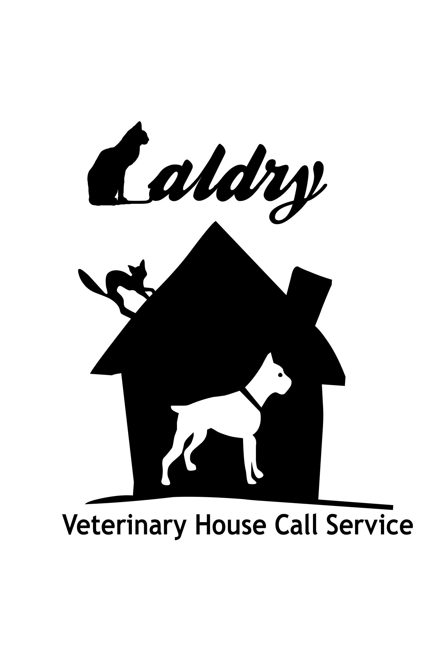 Logo Design by Private User - Entry No. 39 in the Logo Design Contest Captivating Logo Design for Baldry Veterinary House Call Service.