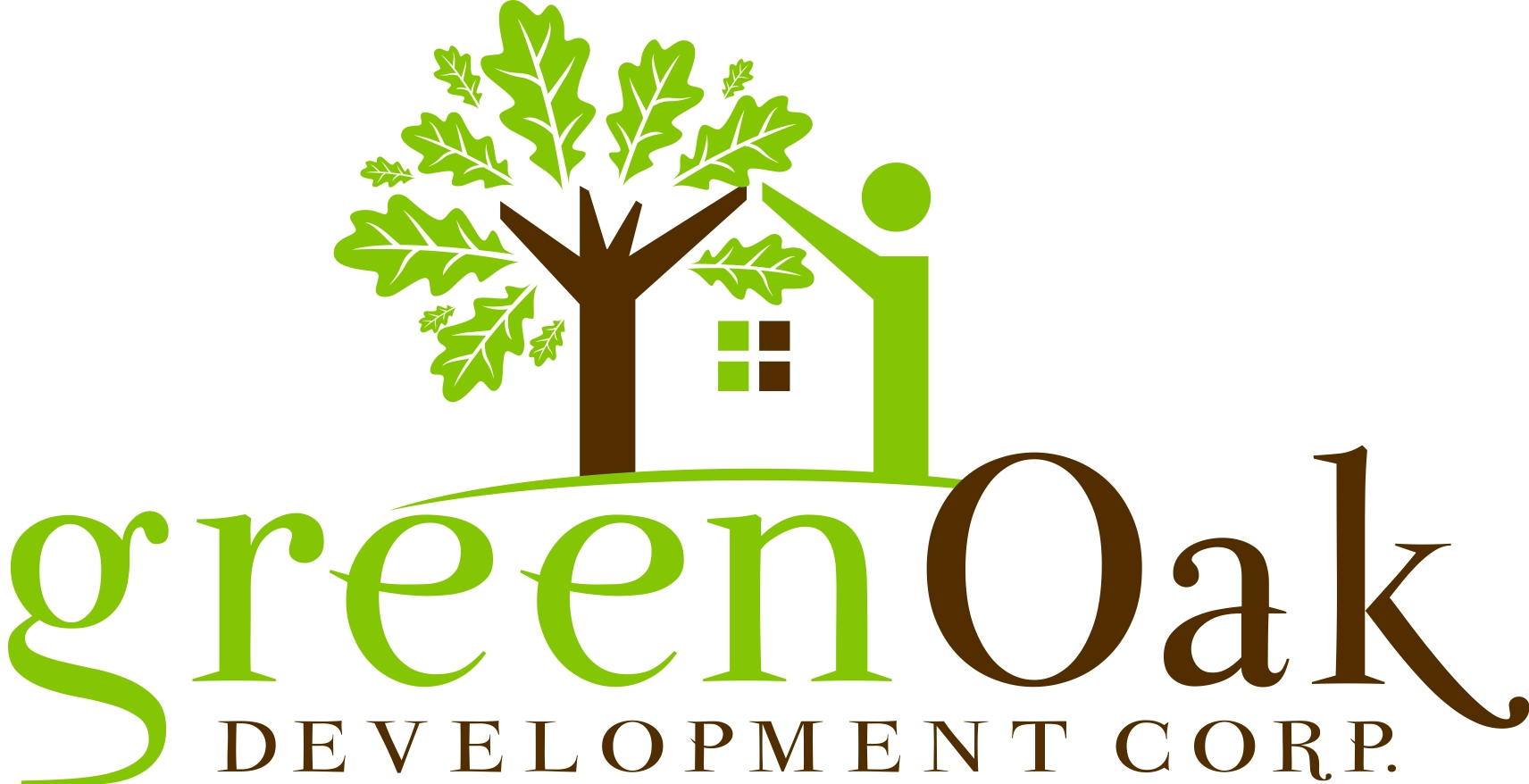 Logo Design by Karthi Keyan - Entry No. 144 in the Logo Design Contest Unique Logo Design Wanted for Green Oak Development Corp..