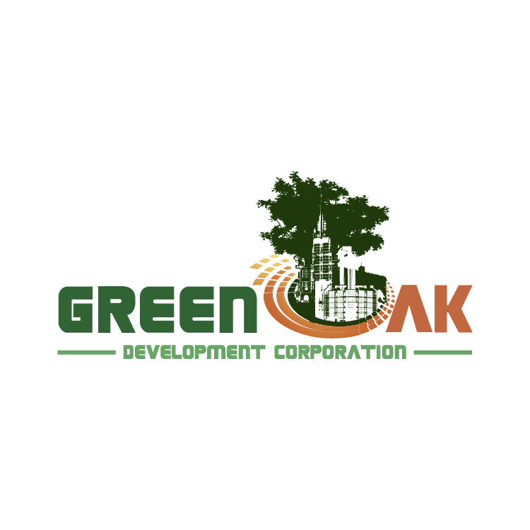 Logo Design by lagalag - Entry No. 146 in the Logo Design Contest Unique Logo Design Wanted for Green Oak Development Corp..