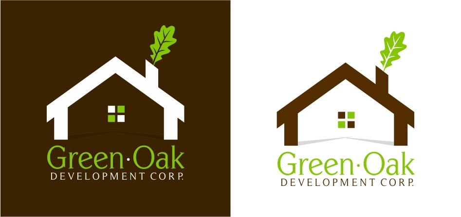 Logo Design by Karthi Keyan - Entry No. 150 in the Logo Design Contest Unique Logo Design Wanted for Green Oak Development Corp..
