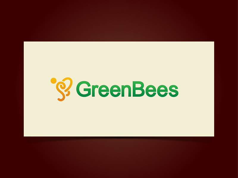 Logo Design by scorpy - Entry No. 66 in the Logo Design Contest Greenbees Logo Design.