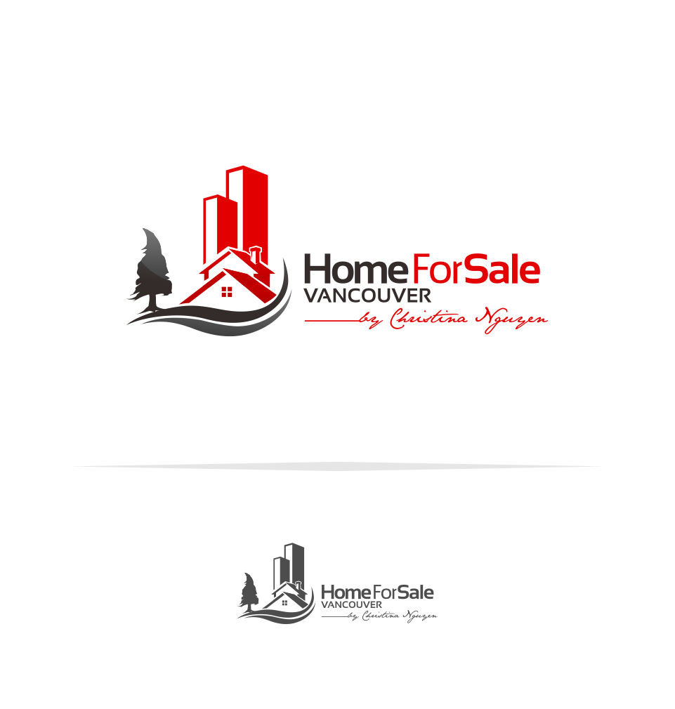 Logo Design by Mitchnick Sunardi - Entry No. 44 in the Logo Design Contest New Logo Design for HomeForSaleVancouver.