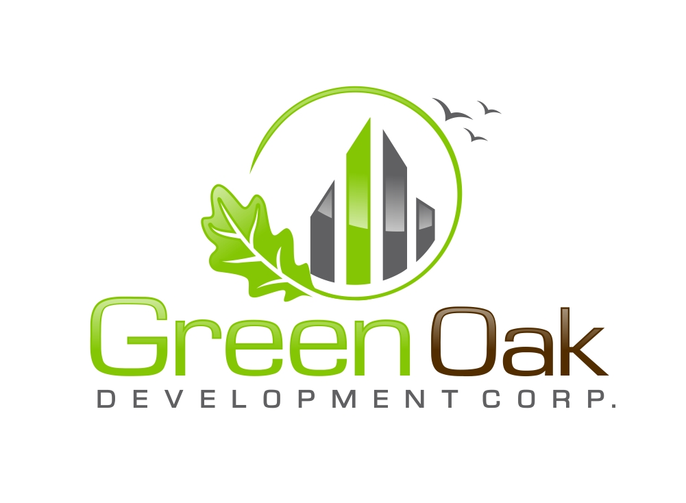 Logo Design by Karthi Keyan - Entry No. 153 in the Logo Design Contest Unique Logo Design Wanted for Green Oak Development Corp..
