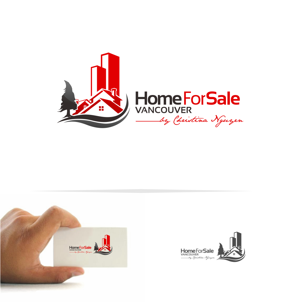Logo Design by Mitchnick Sunardi - Entry No. 45 in the Logo Design Contest New Logo Design for HomeForSaleVancouver.