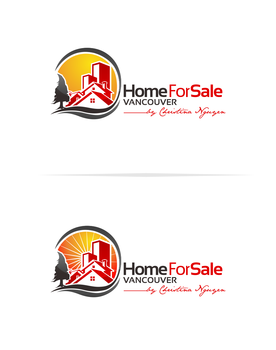 Logo Design by Mitchnick Sunardi - Entry No. 47 in the Logo Design Contest New Logo Design for HomeForSaleVancouver.