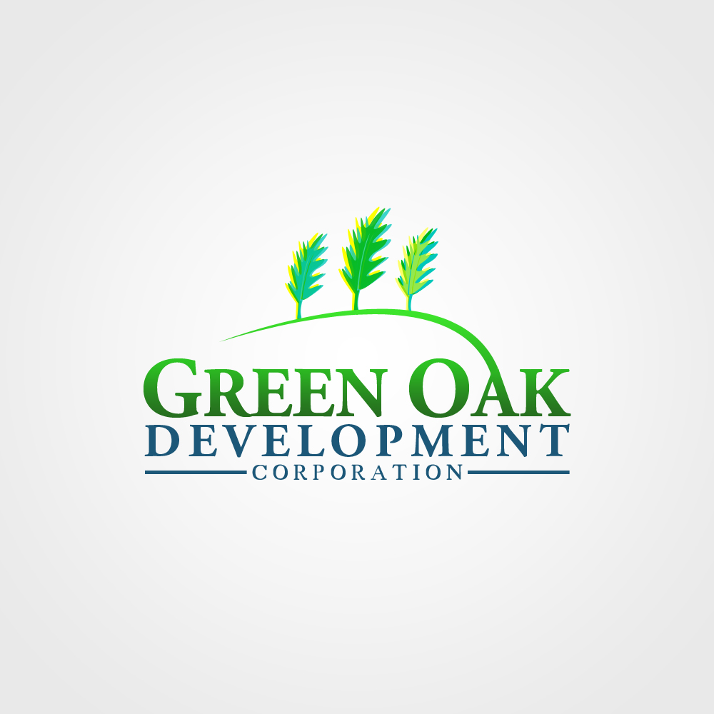 Logo Design by omARTist - Entry No. 155 in the Logo Design Contest Unique Logo Design Wanted for Green Oak Development Corp..