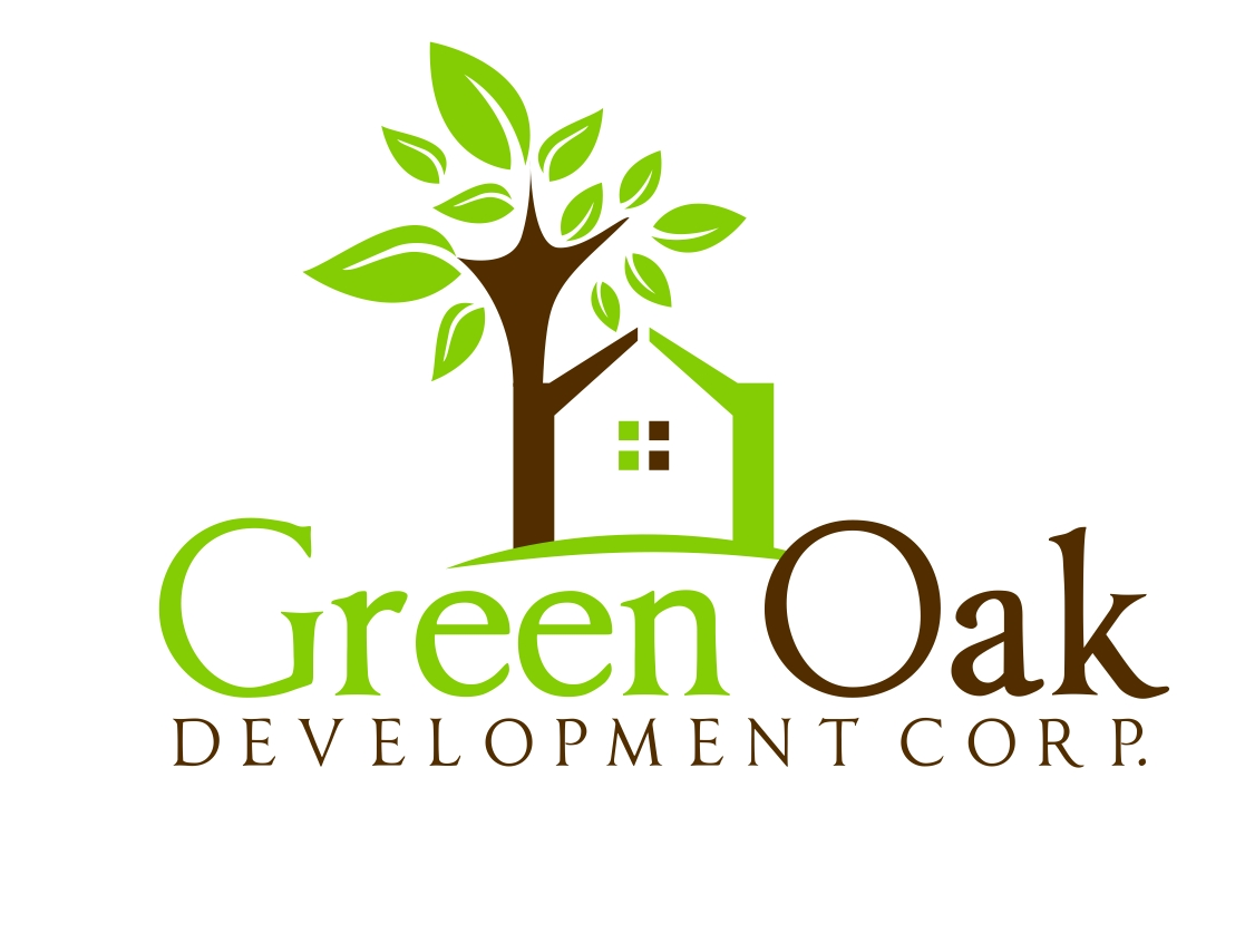 Logo Design by Karthi Keyan - Entry No. 156 in the Logo Design Contest Unique Logo Design Wanted for Green Oak Development Corp..