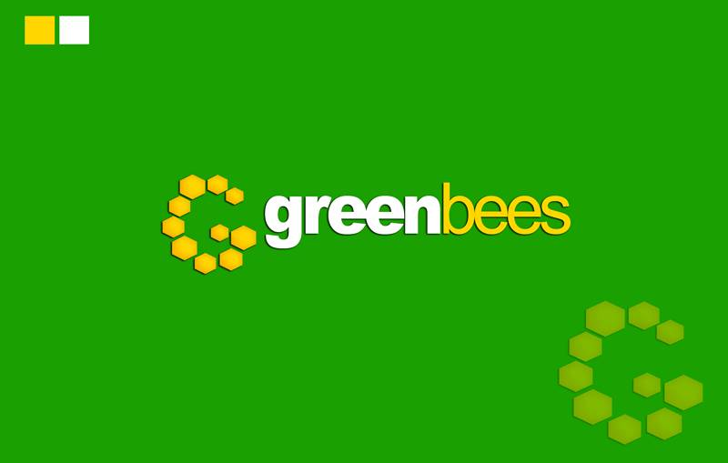 Logo Design by Respati Himawan - Entry No. 70 in the Logo Design Contest Greenbees Logo Design.