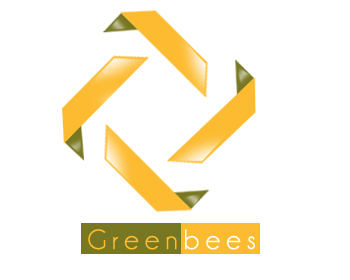 Logo Design by Crystal Desizns - Entry No. 73 in the Logo Design Contest Greenbees Logo Design.