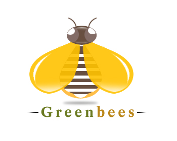 Logo Design by Crystal Desizns - Entry No. 75 in the Logo Design Contest Greenbees Logo Design.