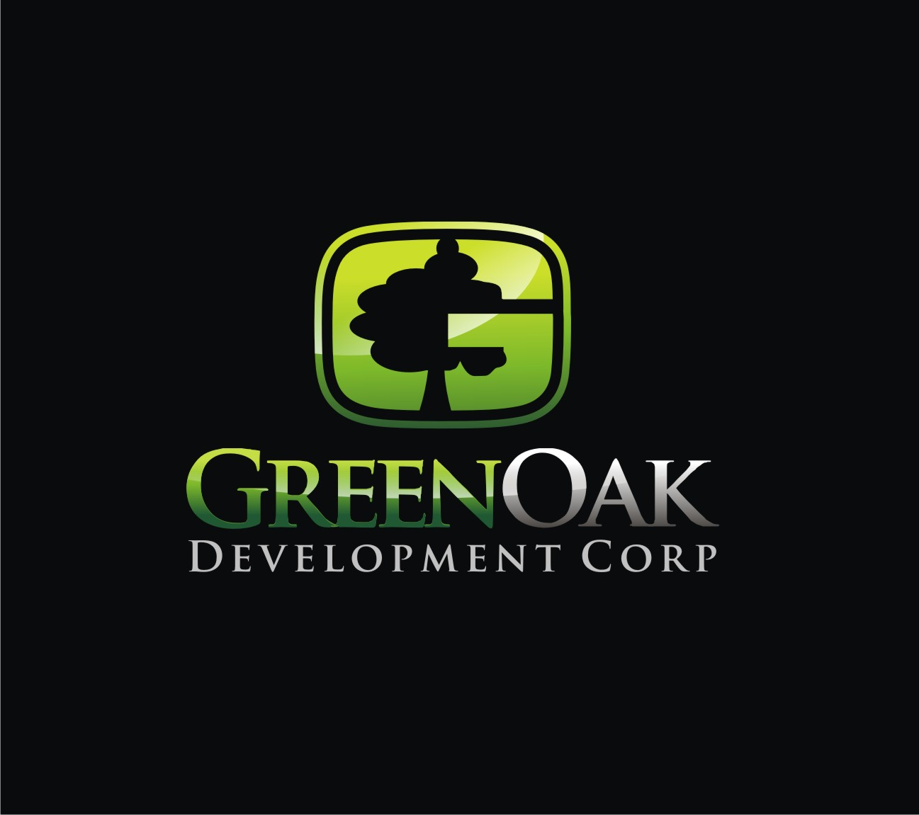 Logo Design by Reivan Ferdinan - Entry No. 159 in the Logo Design Contest Unique Logo Design Wanted for Green Oak Development Corp..