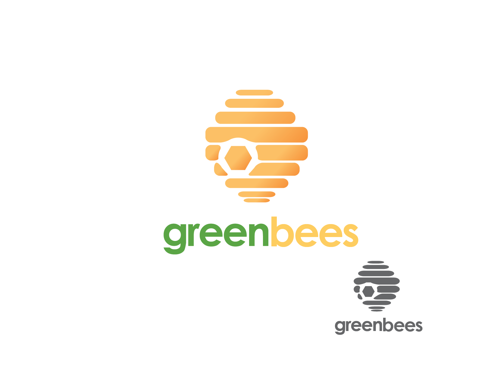 Logo Design by Private User - Entry No. 76 in the Logo Design Contest Greenbees Logo Design.