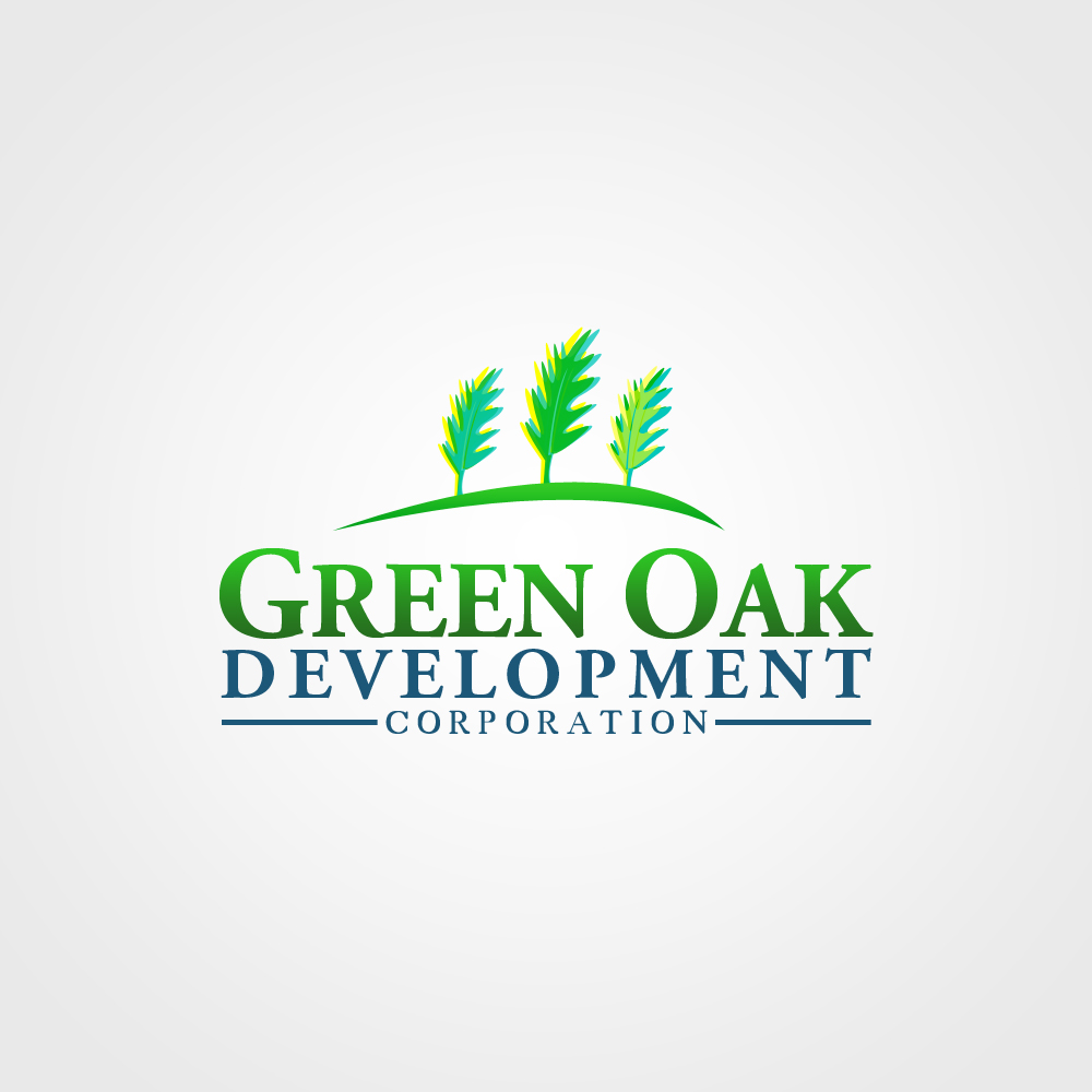 Logo Design by omARTist - Entry No. 161 in the Logo Design Contest Unique Logo Design Wanted for Green Oak Development Corp..