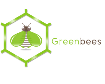 Logo Design by Crystal Desizns - Entry No. 82 in the Logo Design Contest Greenbees Logo Design.