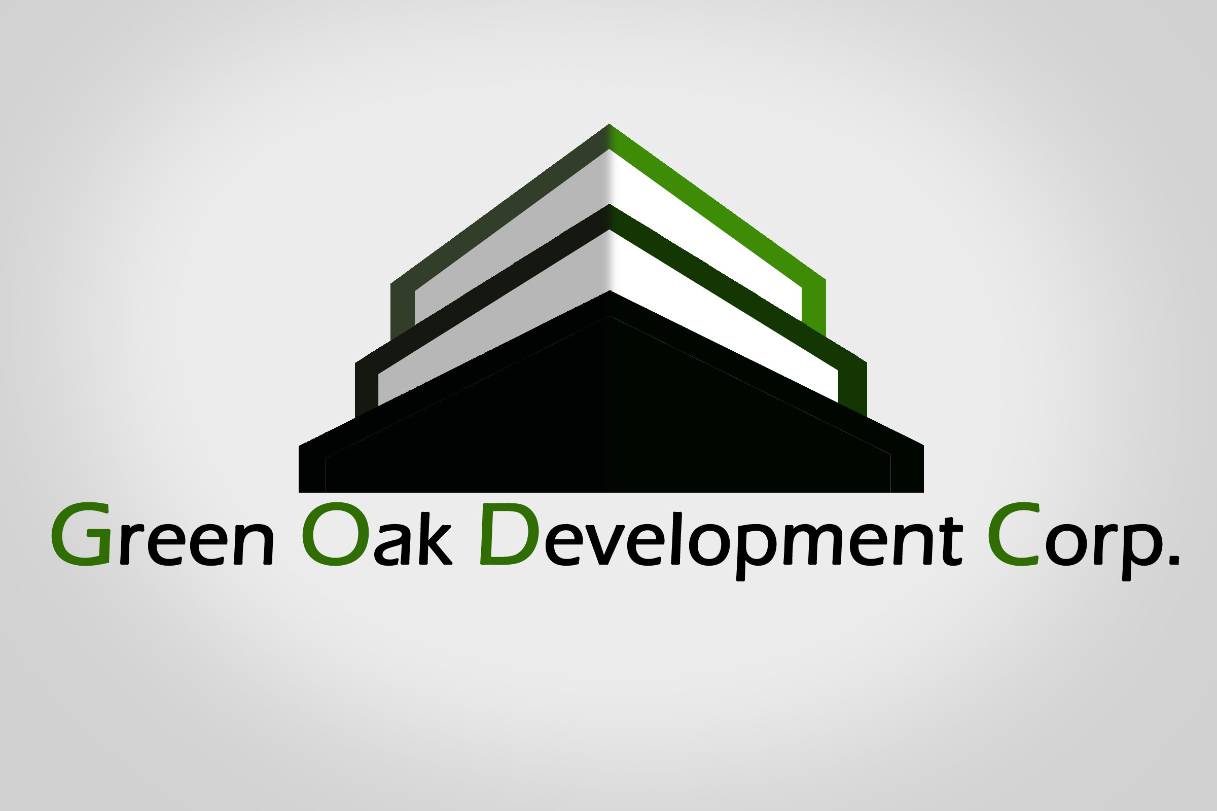 Logo Design by Nishanth Np - Entry No. 166 in the Logo Design Contest Unique Logo Design Wanted for Green Oak Development Corp..