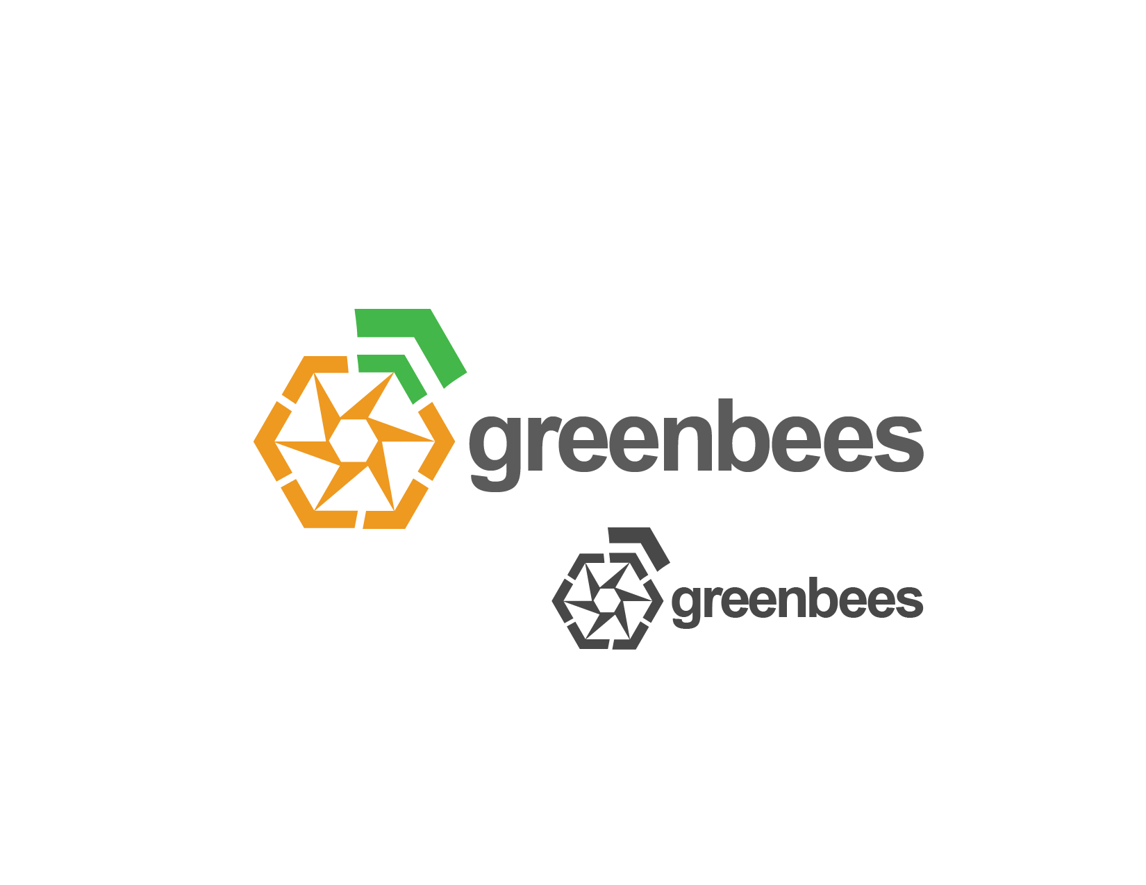 Logo Design by Private User - Entry No. 94 in the Logo Design Contest Greenbees Logo Design.