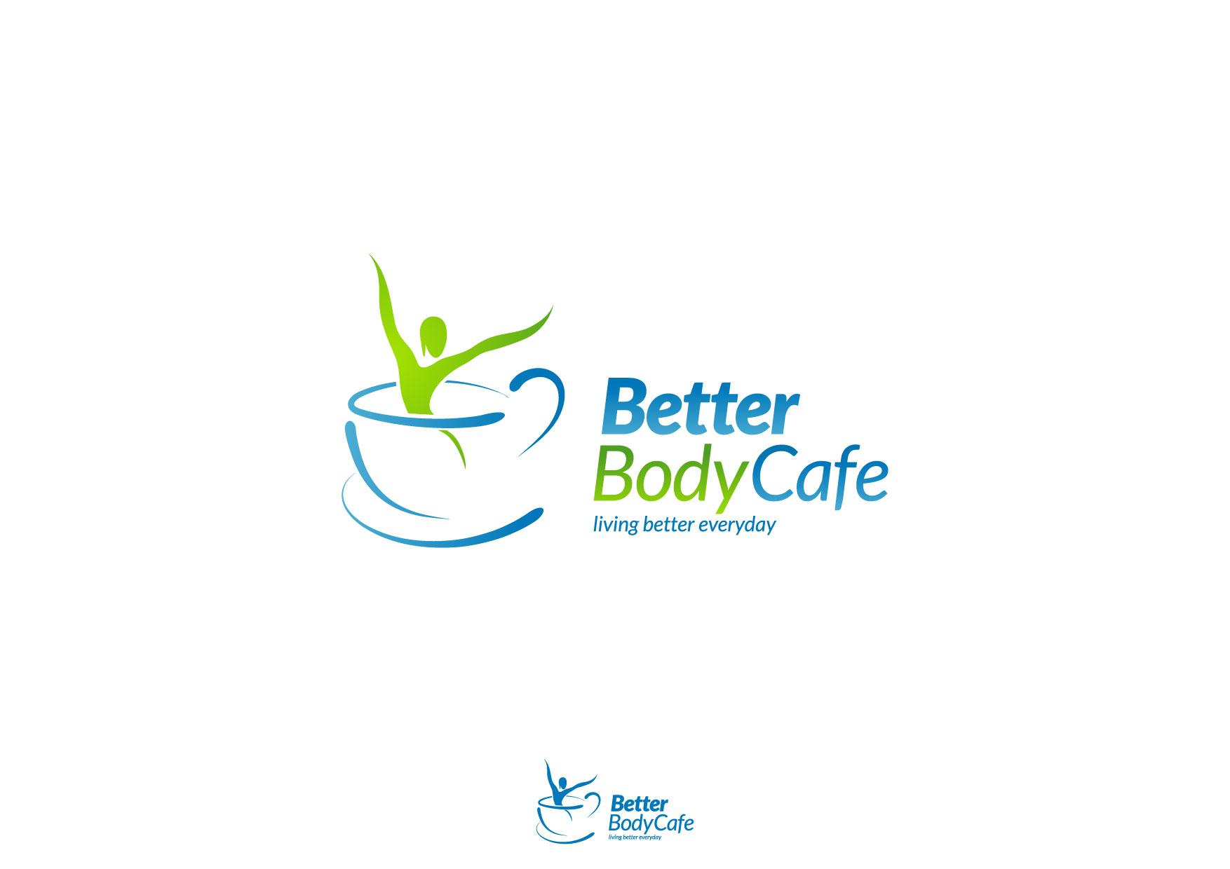Logo Design by Nurgalih Destianto - Entry No. 50 in the Logo Design Contest New Logo Design for Better Body Cafe.
