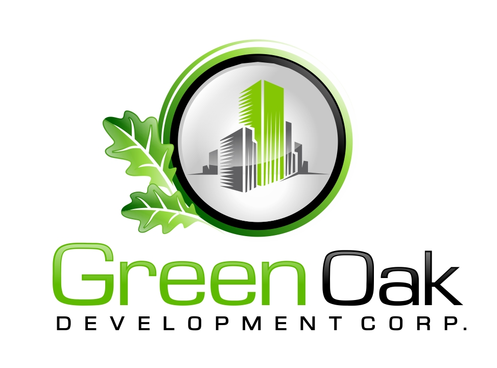 Logo Design by Karthi Keyan - Entry No. 172 in the Logo Design Contest Unique Logo Design Wanted for Green Oak Development Corp..