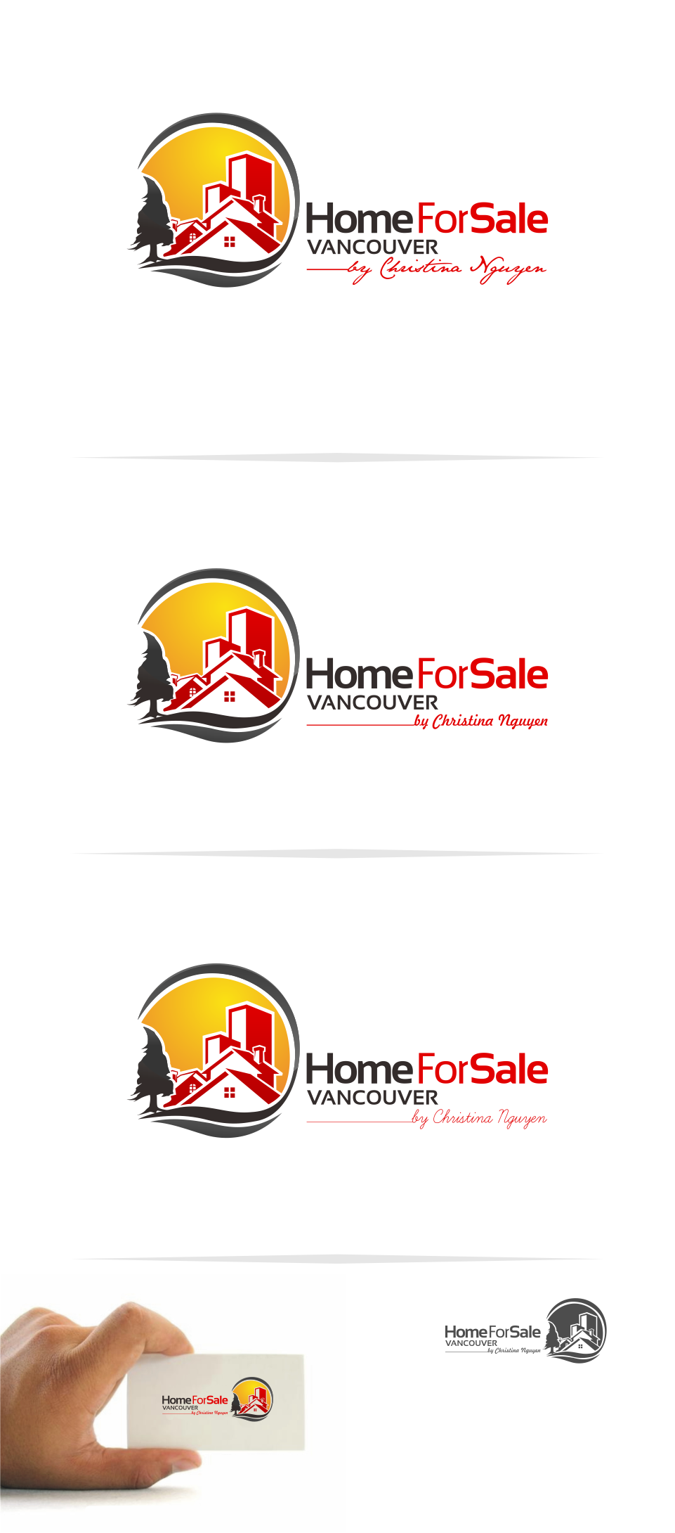 Logo Design by Mitchnick Sunardi - Entry No. 63 in the Logo Design Contest New Logo Design for HomeForSaleVancouver.