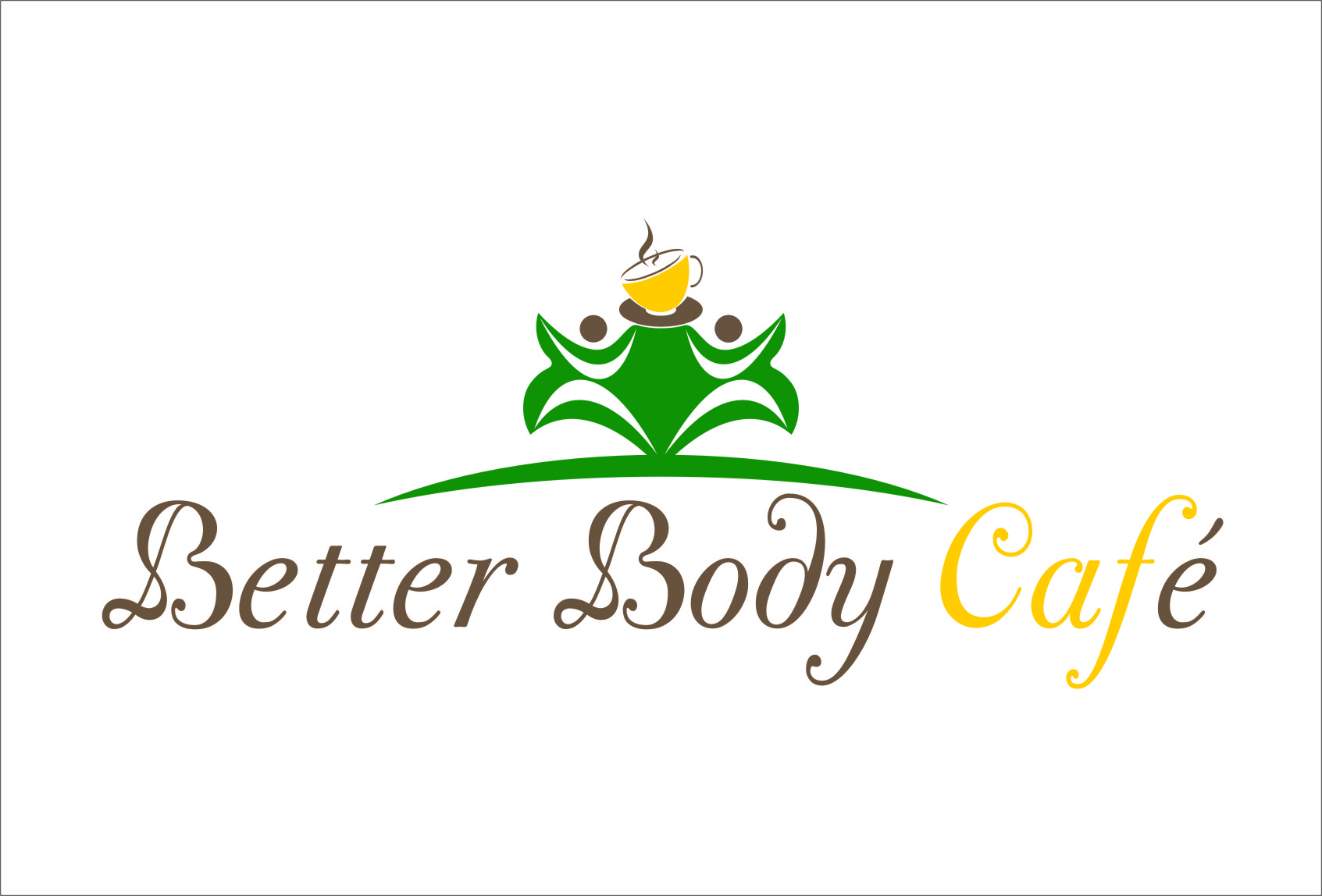 Logo Design by RasYa Muhammad Athaya - Entry No. 51 in the Logo Design Contest New Logo Design for Better Body Cafe.