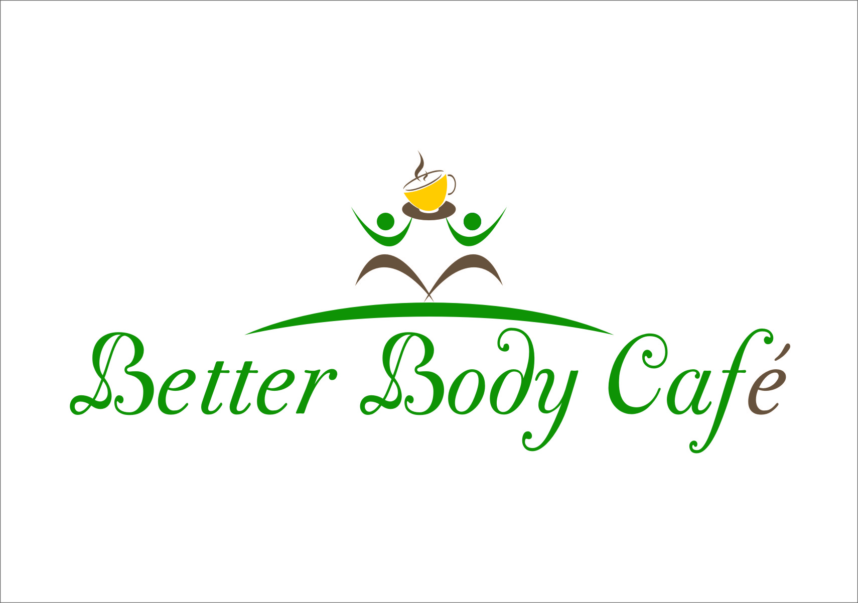 Logo Design by RasYa Muhammad Athaya - Entry No. 52 in the Logo Design Contest New Logo Design for Better Body Cafe.