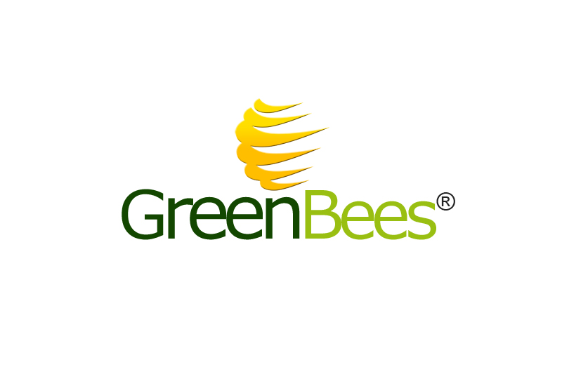 Logo Design by Private User - Entry No. 103 in the Logo Design Contest Greenbees Logo Design.