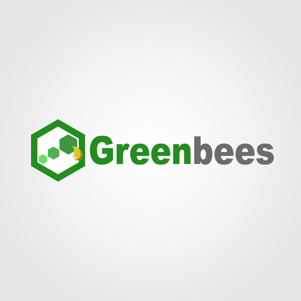 Logo Design by omARTist - Entry No. 110 in the Logo Design Contest Greenbees Logo Design.