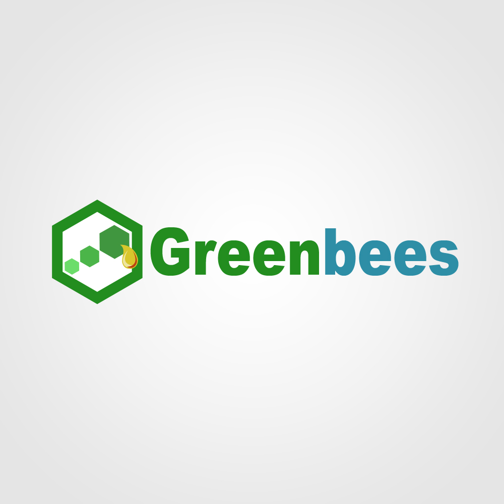 Logo Design by omARTist - Entry No. 111 in the Logo Design Contest Greenbees Logo Design.