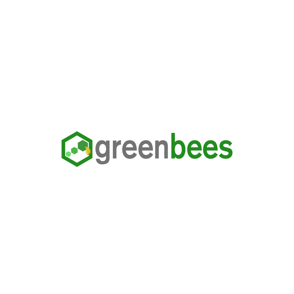 Logo Design by omARTist - Entry No. 113 in the Logo Design Contest Greenbees Logo Design.