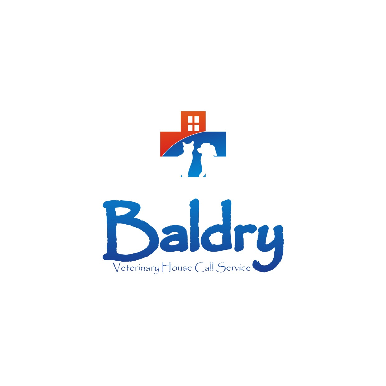 Logo Design by jalal - Entry No. 44 in the Logo Design Contest Captivating Logo Design for Baldry Veterinary House Call Service.