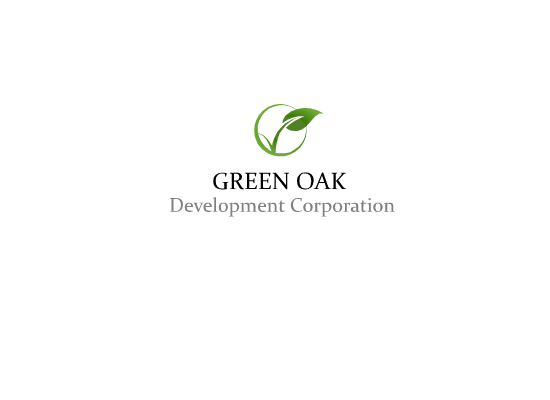Logo Design by Tathastu Sharma - Entry No. 193 in the Logo Design Contest Unique Logo Design Wanted for Green Oak Development Corp..