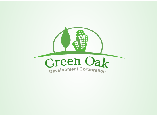 Logo Design by Tathastu Sharma - Entry No. 196 in the Logo Design Contest Unique Logo Design Wanted for Green Oak Development Corp..