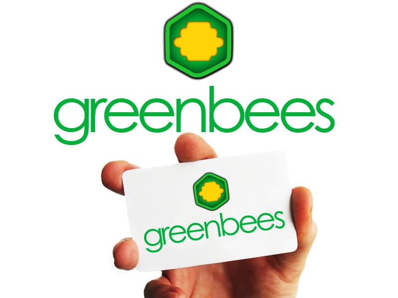 Logo Design by Mythos Designs - Entry No. 116 in the Logo Design Contest Greenbees Logo Design.