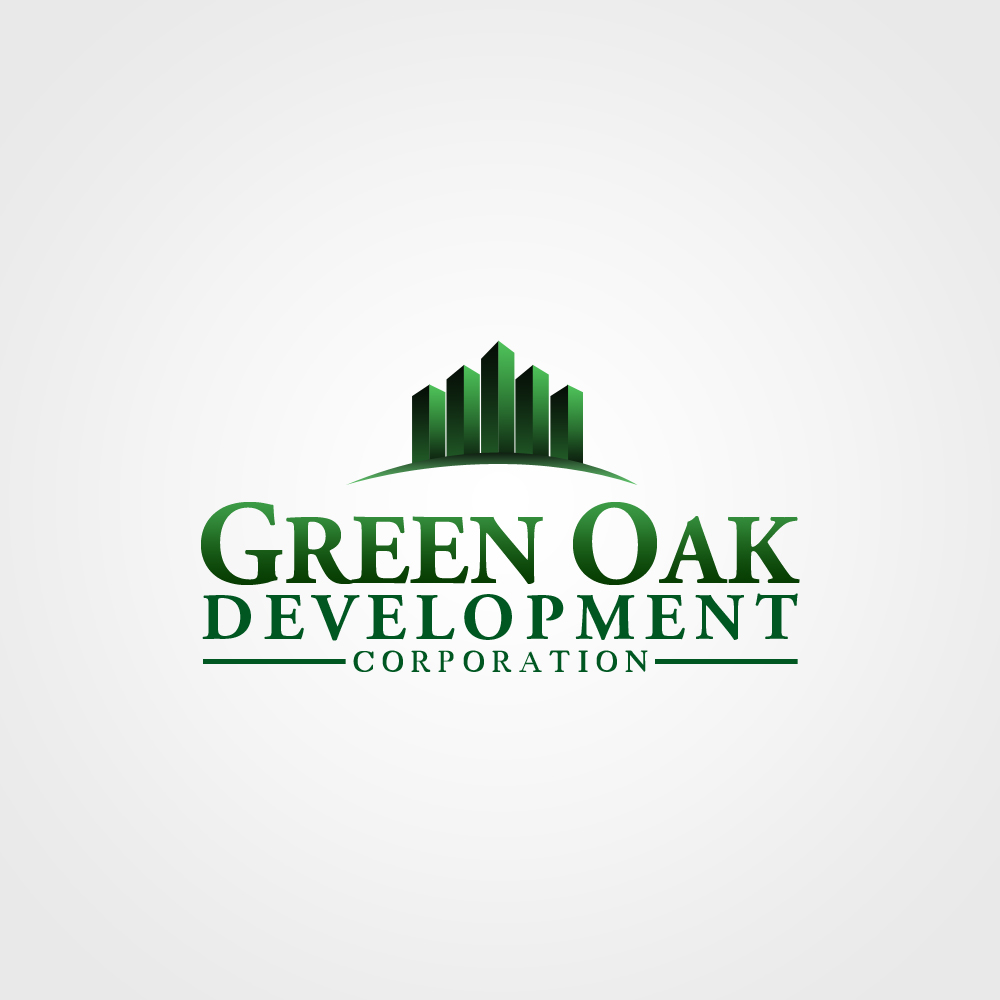 Logo Design by omARTist - Entry No. 197 in the Logo Design Contest Unique Logo Design Wanted for Green Oak Development Corp..