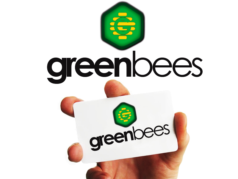 Logo Design by Mythos Designs - Entry No. 120 in the Logo Design Contest Greenbees Logo Design.