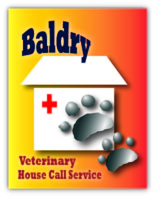 Logo Design by Jenice Tobias - Entry No. 45 in the Logo Design Contest Captivating Logo Design for Baldry Veterinary House Call Service.