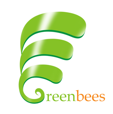 Logo Design by Crystal Desizns - Entry No. 121 in the Logo Design Contest Greenbees Logo Design.