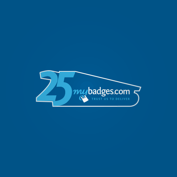 Logo Design by Private User - Entry No. 50 in the Logo Design Contest 25th Anniversary Logo Design Wanted for MyBadges.com.