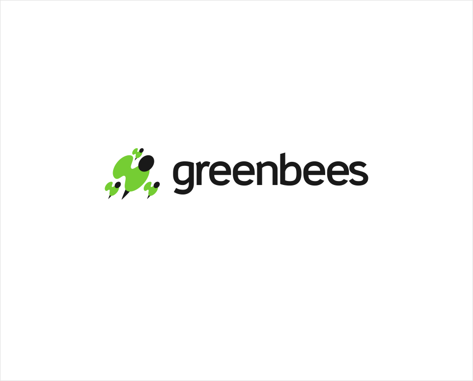 Logo Design by Jorge Sardon - Entry No. 129 in the Logo Design Contest Greenbees Logo Design.