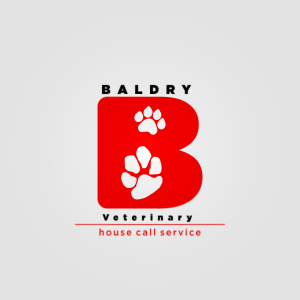 Logo Design by Private User - Entry No. 50 in the Logo Design Contest Captivating Logo Design for Baldry Veterinary House Call Service.