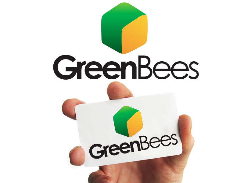 Logo Design by Mythos Designs - Entry No. 133 in the Logo Design Contest Greenbees Logo Design.