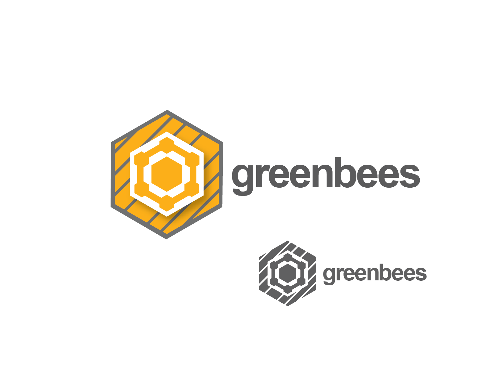 Logo Design by Private User - Entry No. 140 in the Logo Design Contest Greenbees Logo Design.