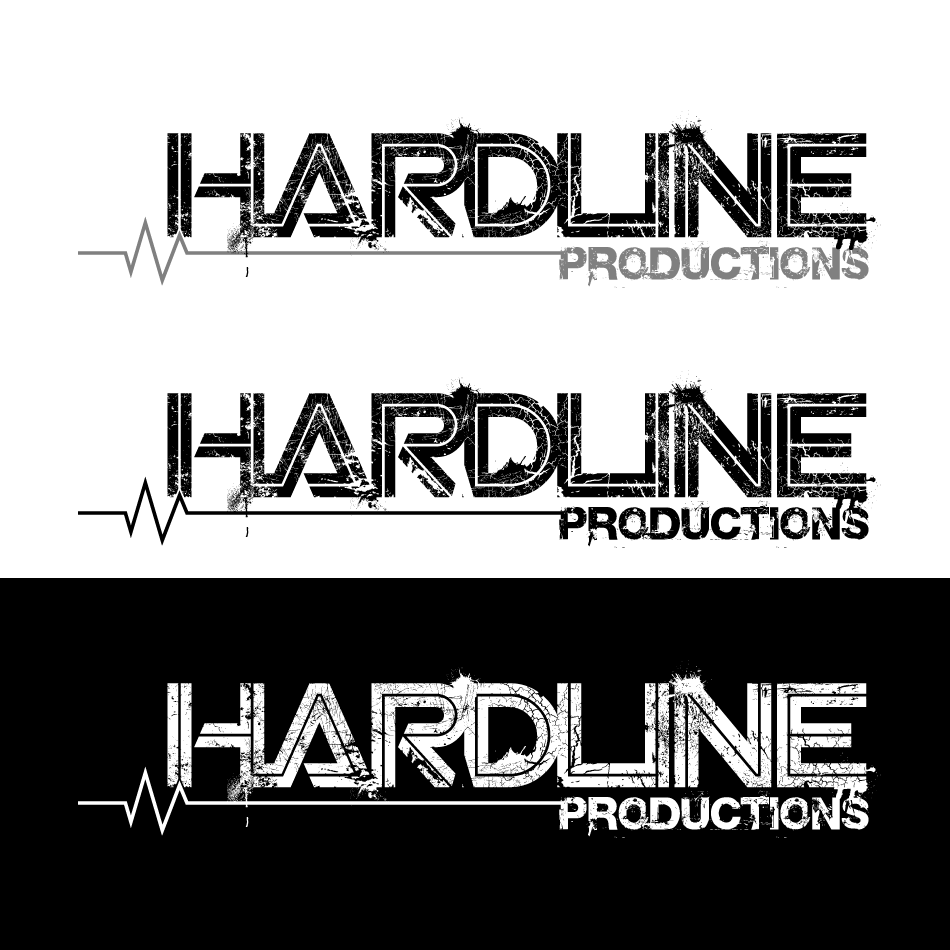 Logo Design by GraySource - Entry No. 121 in the Logo Design Contest Hardline Productions.