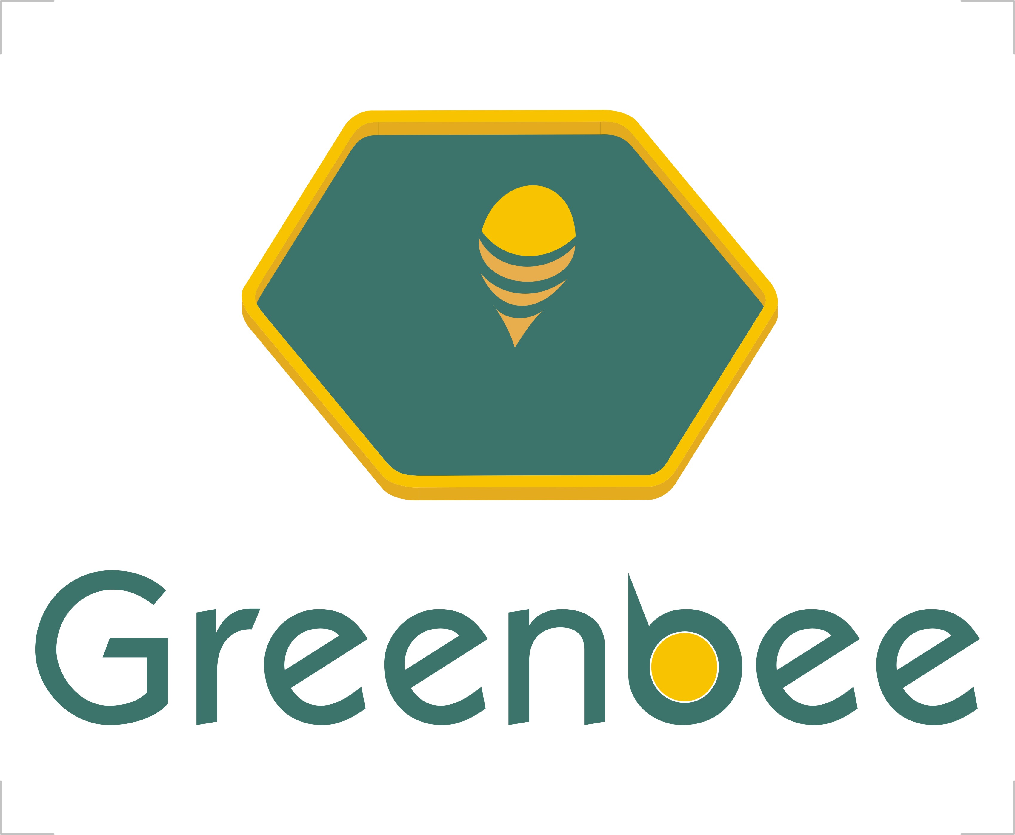 Logo Design by Crystal Desizns - Entry No. 144 in the Logo Design Contest Greenbees Logo Design.